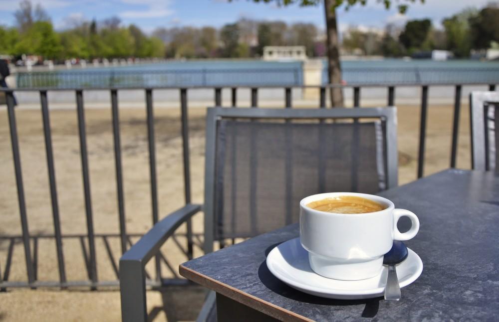 Café con leche, Madrid, Spain