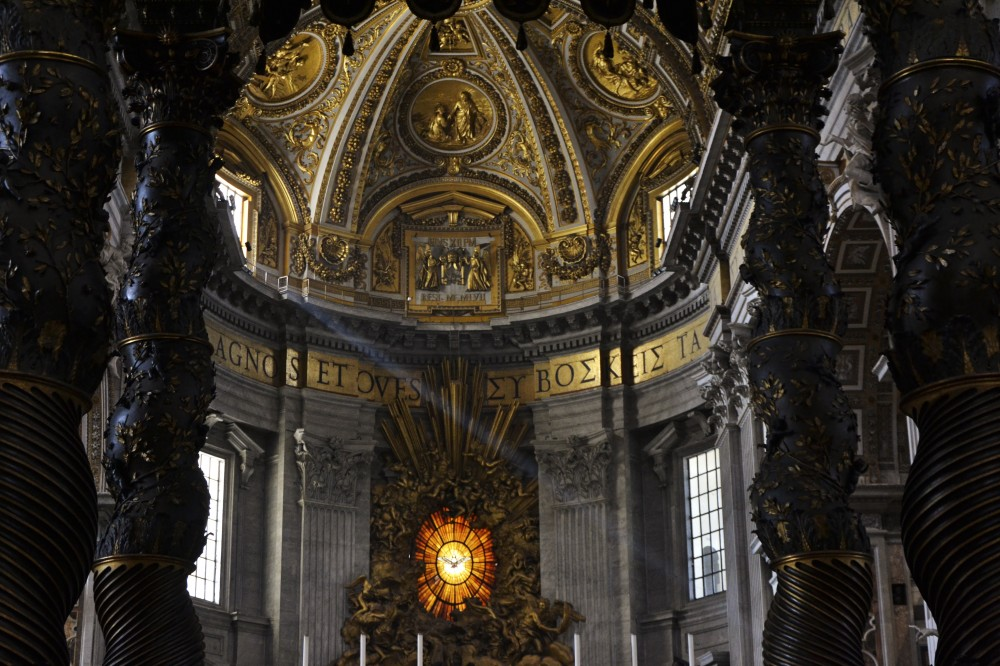 St. Peter's Baldachin, Rome, Italy