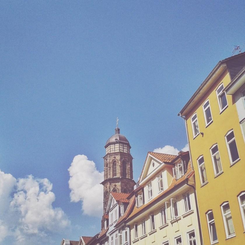Summer skies in Göttingen, Germany