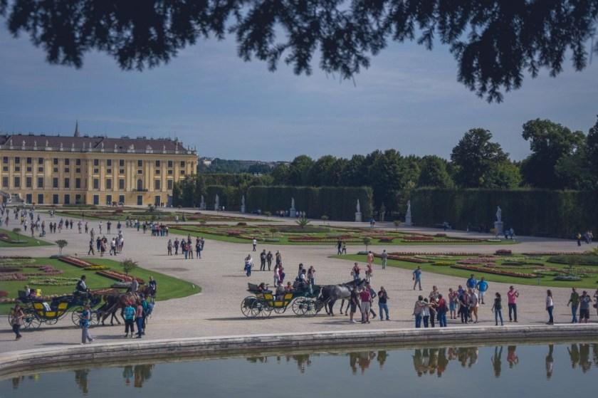 Schönbrunn Park in Vienna