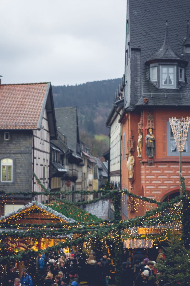 Christmas market of Goslar, Germany