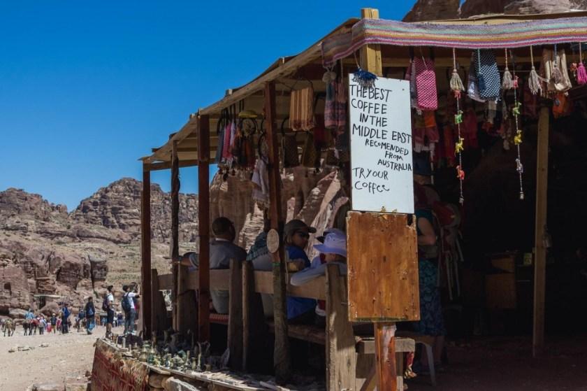 Coffee in Petra, Jordan
