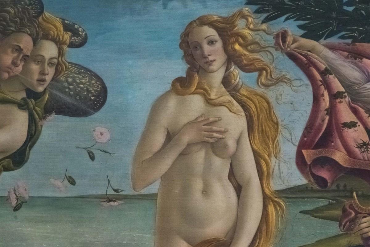Botticelli's Venus, Florence, Italy