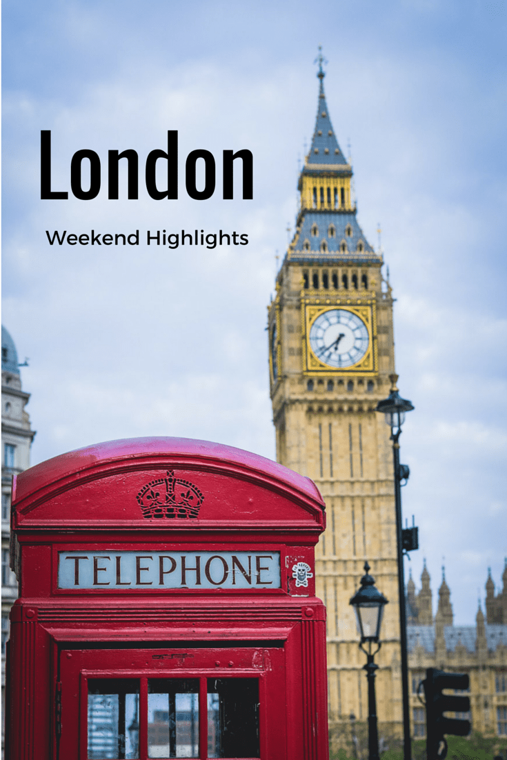 London for a weekend