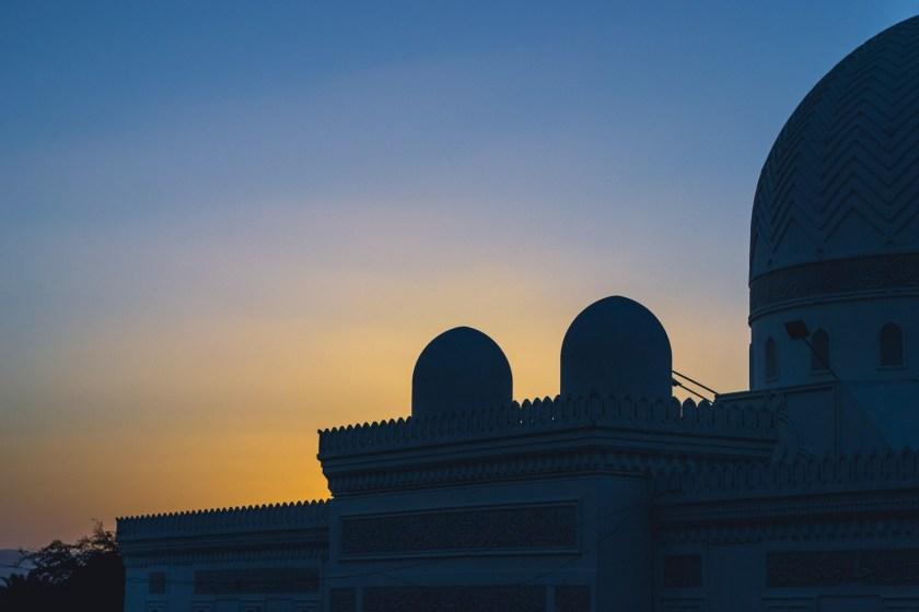 Sunset in Aqaba, Jordan