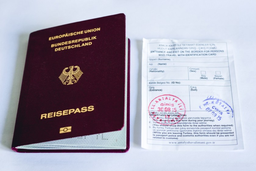 Traveling to Turkey with a Passport or an ID