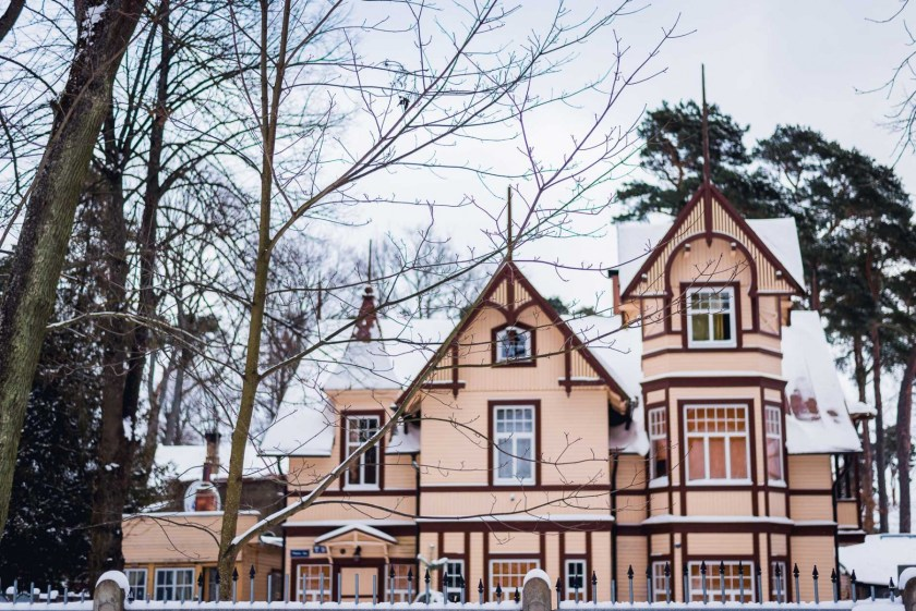 Jurmala, Latvia in January