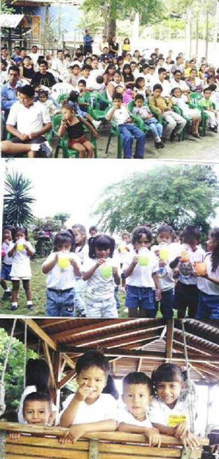 Actividades en la Escuela Sai de Bahía