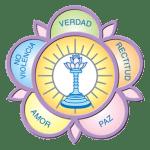 """Logo """"Sarva Dharma de los Valores Humanos)"""