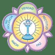 """Logo """"Sarva Dharma de los Valores Humanos"""""""
