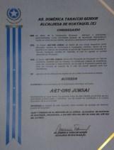 JumSai Ecuador - Rueda prensa principales medios comunicación tv radio prensa escrita - Reconocimiento del Muy Ilustre Municipio de Guayaquil a trayectoria de Jumsai - 14abr2014 -Guayaquil