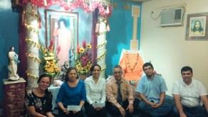 Parte del nuevo Comité Ejecutivo de la OSSS del Ecuador