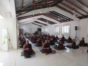 Sati Pirivena at Nissarana Vanaya