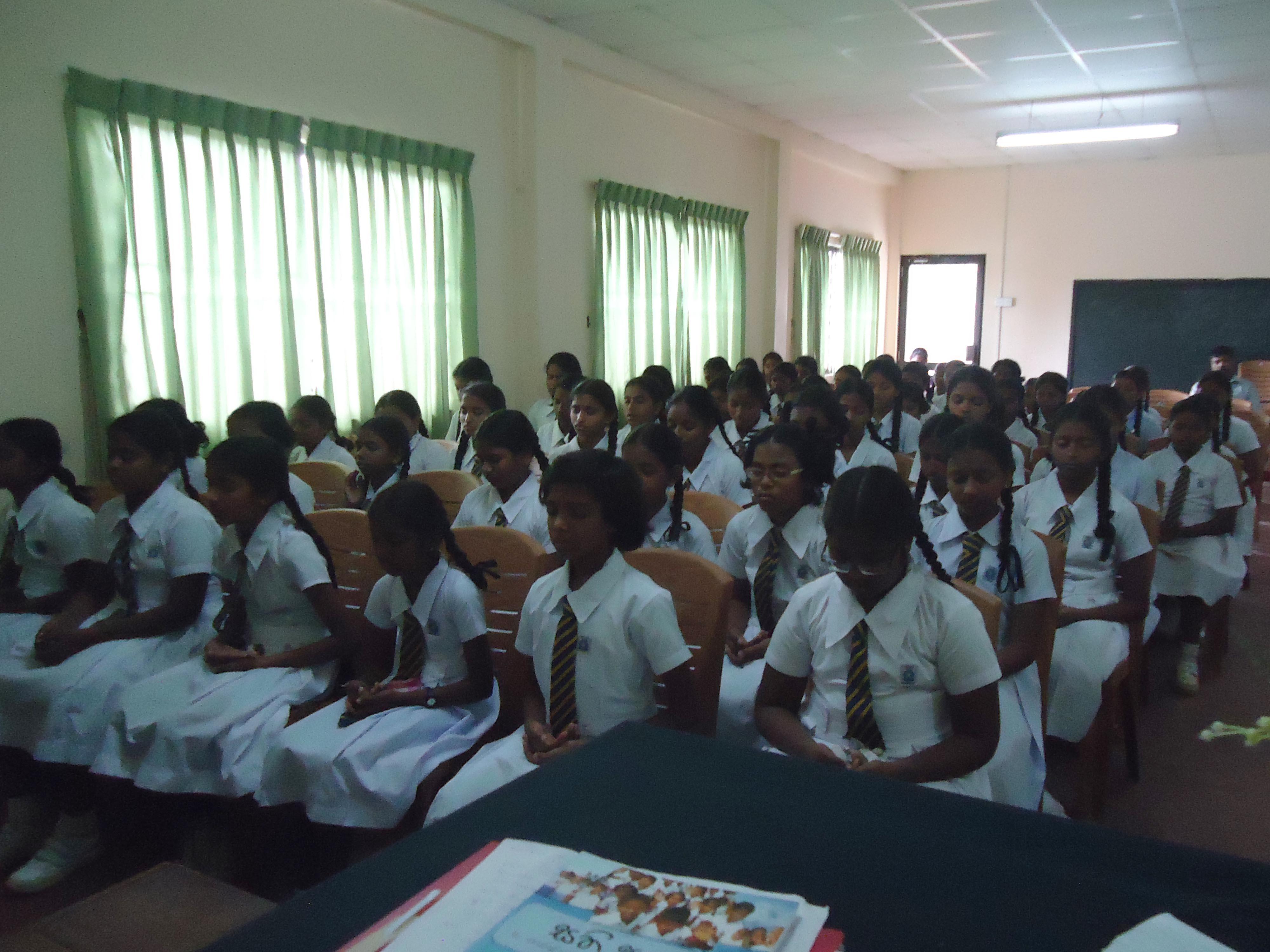 Sati Pasela Programme at Gurukula National College, Kelaniya