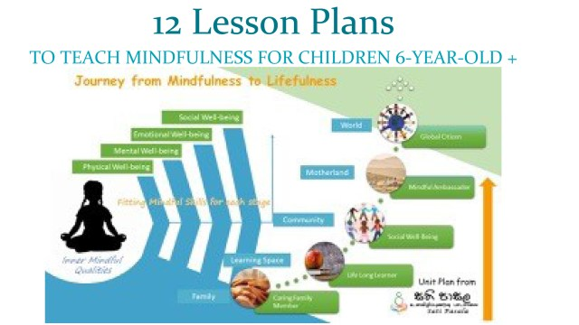 12 Lesson Plans TO TEACH MINDFULNESS FOR CHILDREN 6-YEAR-OLD +