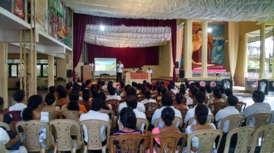 Mindfulness program for National School Teachers from Matale, Kandy and Nuwara Eliya