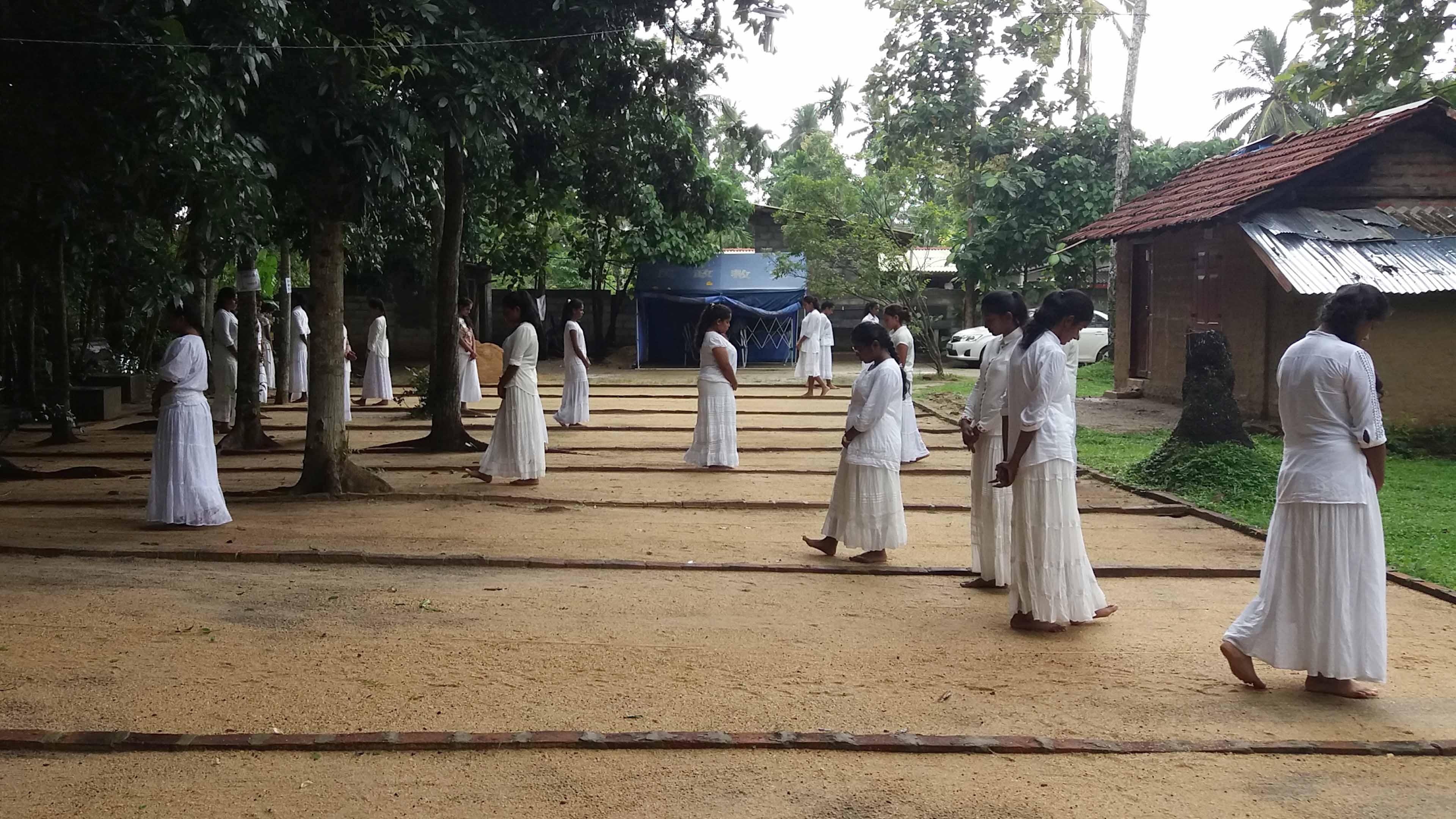 Prefects of Visakha Vidyalaya, Colombo 04 Experienced Mindfulness
