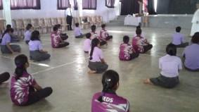 Mindfulness Program at Leeds International School, Panadura