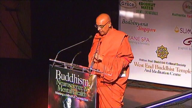 Sati Pasala video presentation at 10th Global Conference on Buddhism