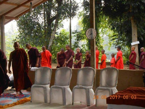 Sati Pirivena Program for Sri Weerasinharamaya Pirivena, Kirillavala, Kadawatha