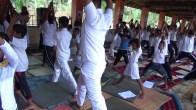 Sati Camp at Meethirigala Kanishta Vidyalaya-yoga session (1)