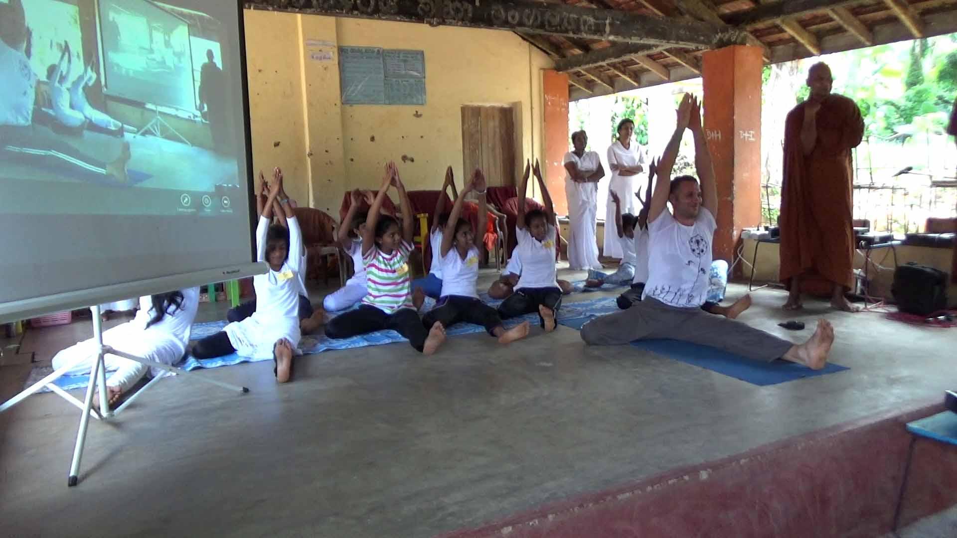 Sati Camp at Meethirigala Kanishta Vidyalaya-yoga session (10)