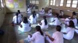 Sati Camp at Meethirigala Kanishta Vidyalaya-yoga session (27)