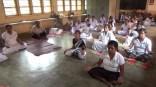 Sati Camp at Meethirigala Kanishta Vidyalaya-yoga session (28)