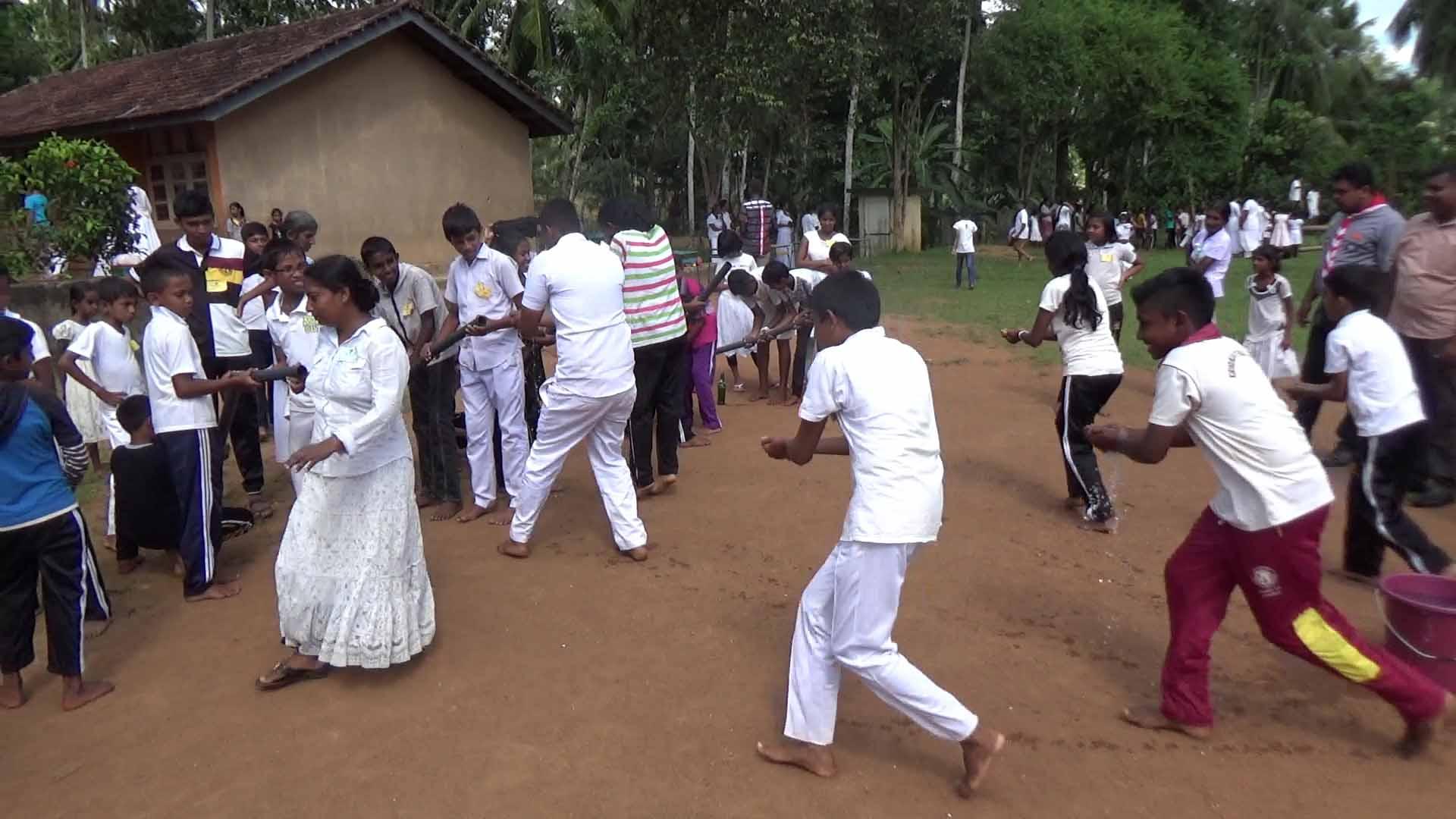 Sati Pasala Mindfulness Camp at Meethirigala Kanishta Vidyalaya-mindful games (21)