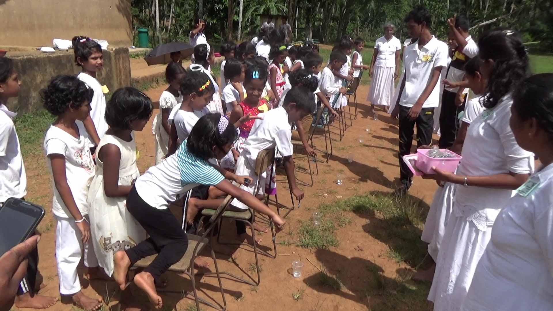 Sati Pasala Mindfulness Camp at Meethirigala Kanishta Vidyalaya-mindful games (9)