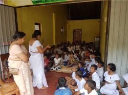 Sati Pasala programme held at YMBA building, Daulagala Sati Pasala programme held at YMBA building, Daulagala
