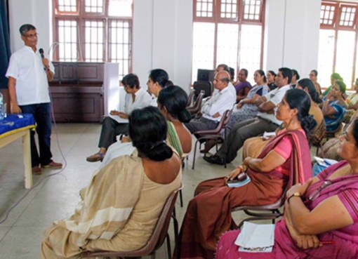 Visakha Vidyalaya, Bambalapitiya, teacher training on Mindfulness on the 20th August 2017