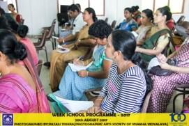 Visakha Vidyalaya, Bambalapitiya, teacher training on Mindfulness on the 20th August 2017