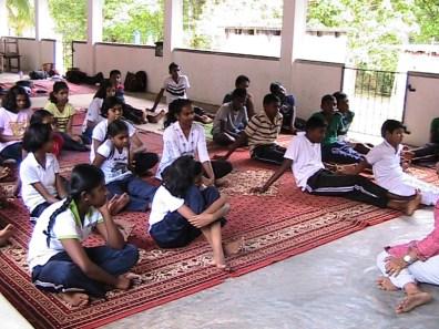 Sati Pasala Program at Sri Piyadassi Dhamma School, Kelimune, Mahakeliya (Kurunegala) (1)