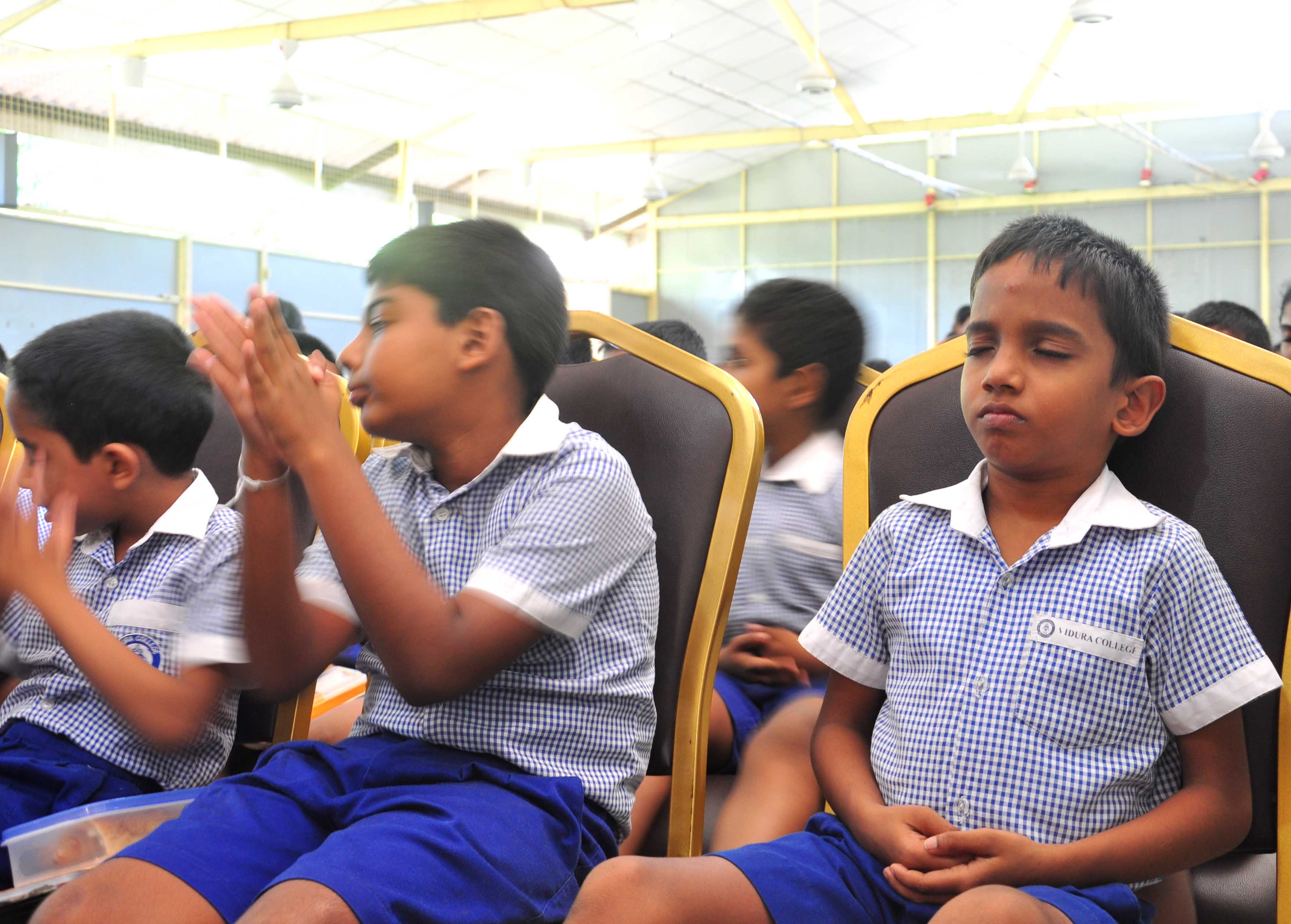 Sati Pasala visits Vidura College Primary on the 22nd & 28th September 2017 (11)
