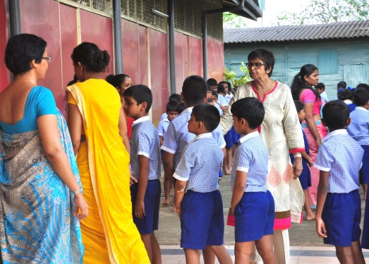 Sati Pasala visits Vidura College Primary on the 22nd & 28th September 2017 (22)