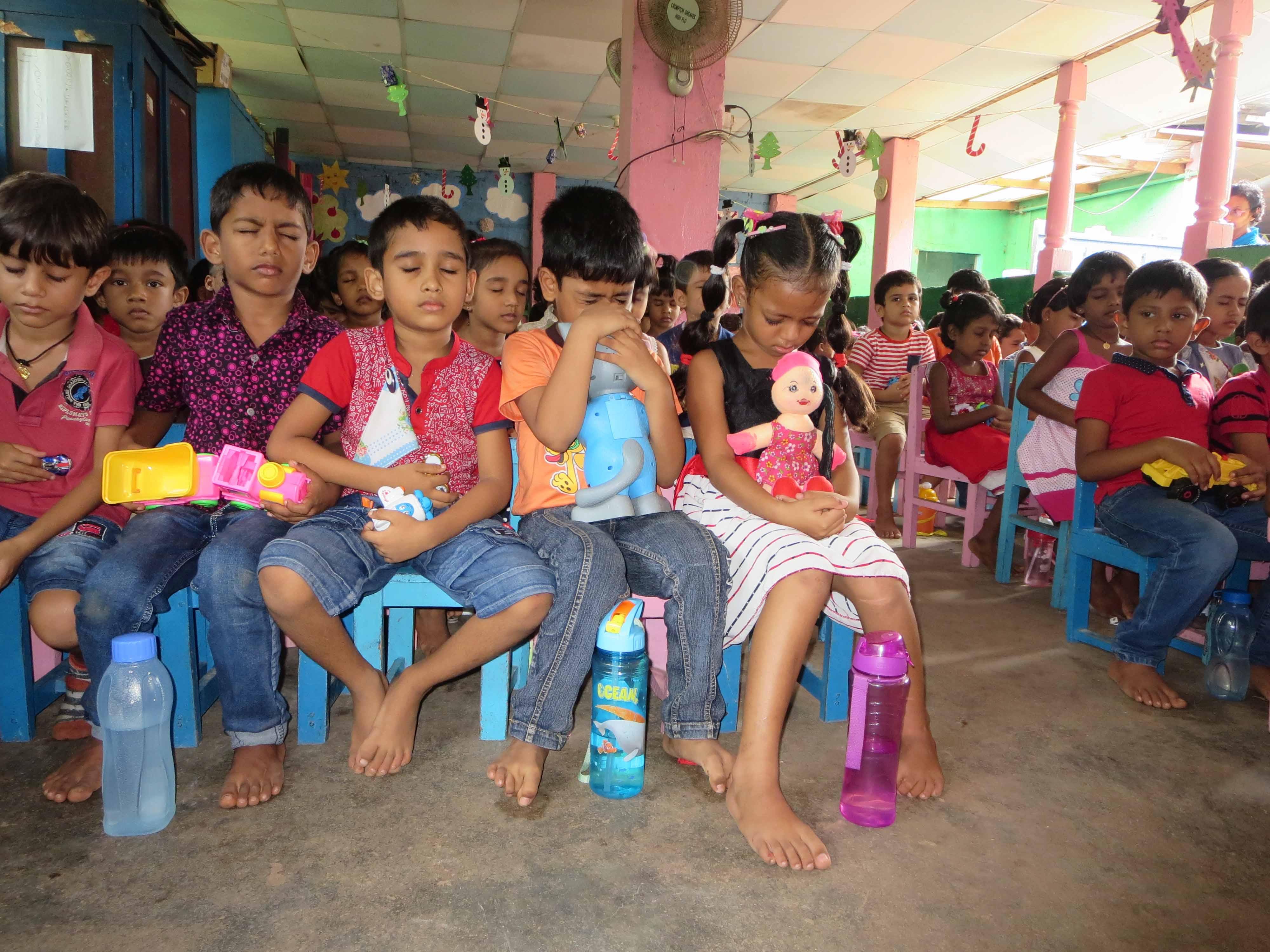 Sati Pasala Mindfulness Training Program for Visaka Pre-School Kadawatha (1)