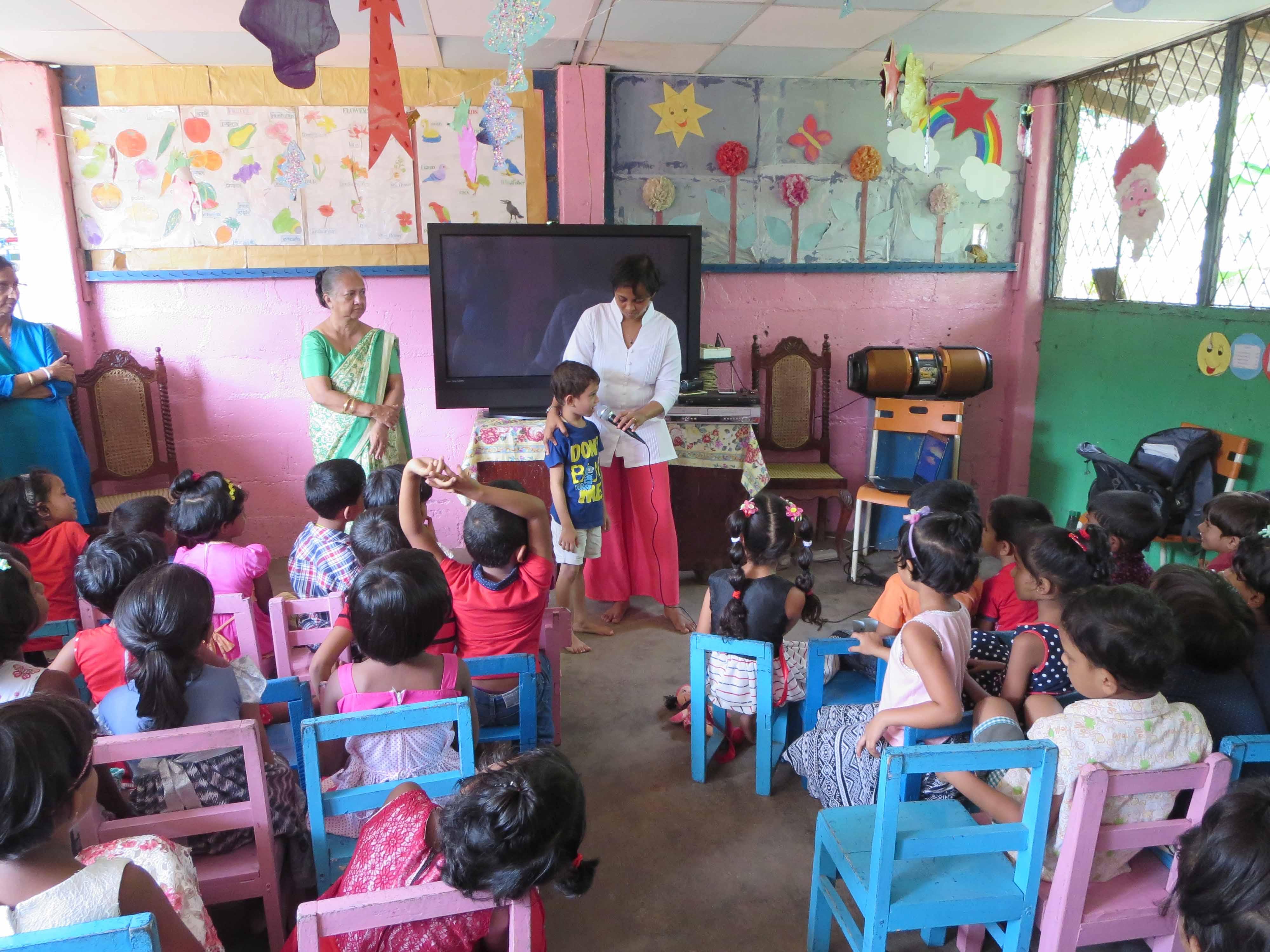Sati Pasala Mindfulness Training Program for Visaka Pre-School Kadawatha (37)