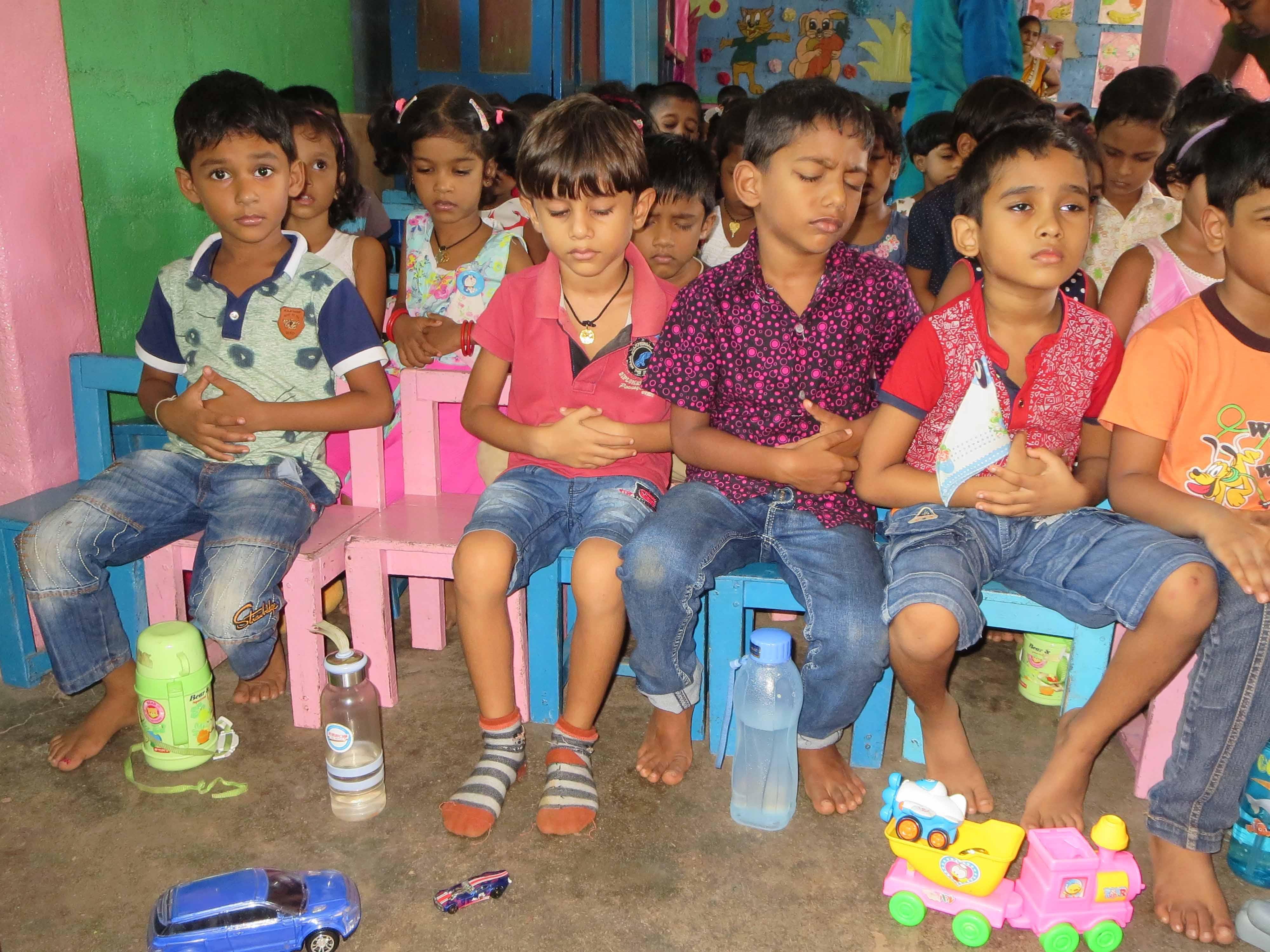 Sati Pasala Mindfulness Training Program for Visaka Pre-School Kadawatha (5)