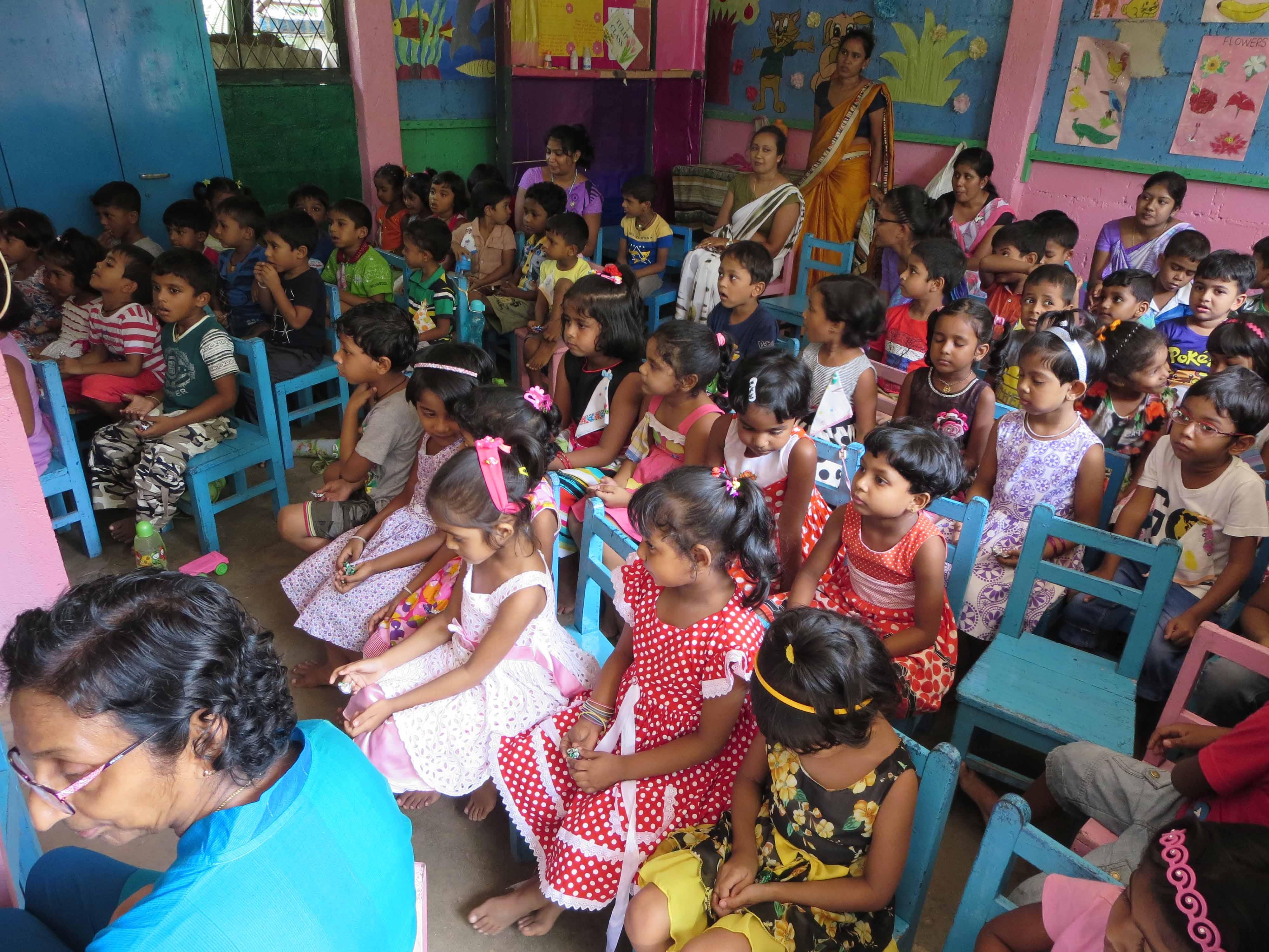 Sati Pasala Mindfulness Training Program for Visaka Pre-School Kadawatha (51)