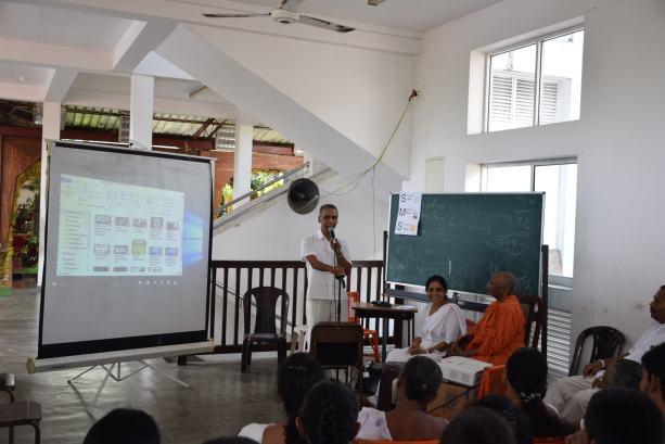 Sati Pasala Mindfulness program at Gangaramaya Temple (2)
