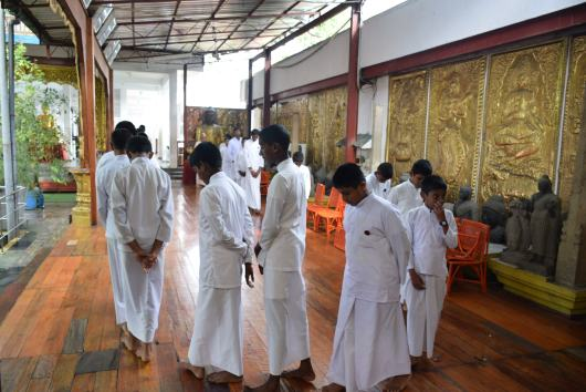 Sati Pasala Mindfulness program at Gangaramaya Temple (20)