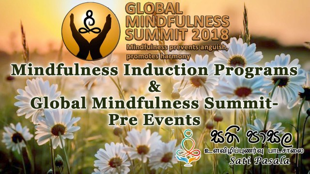 Global Mindfulness Summit- Pre Events (February 2018)