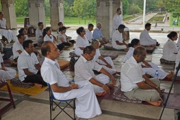 Interfaith Meditation The 'super glue' of mindfulness at the Independence Square on Saturday December 2nd (7)