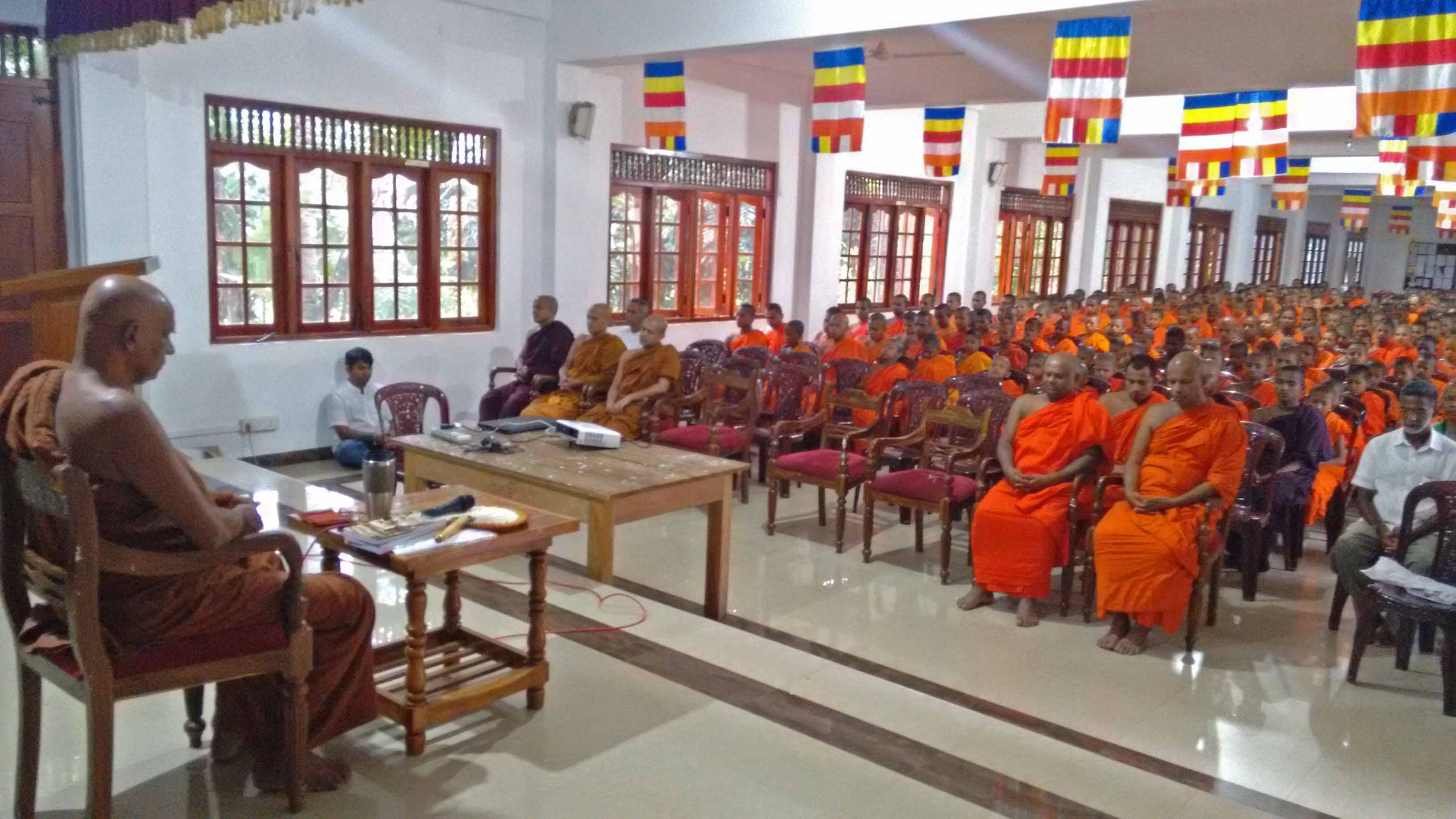 Sati Pirivena Introduction Programme at Mahavihara Maha Pirivena - Asgiriya, Kandy (9)