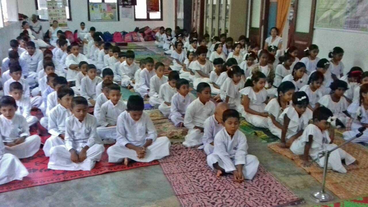 The Introduction of 'Sati Pasala' to the University Sarasavi Daham Pasala at Peradeniya University Viharaya. (1)