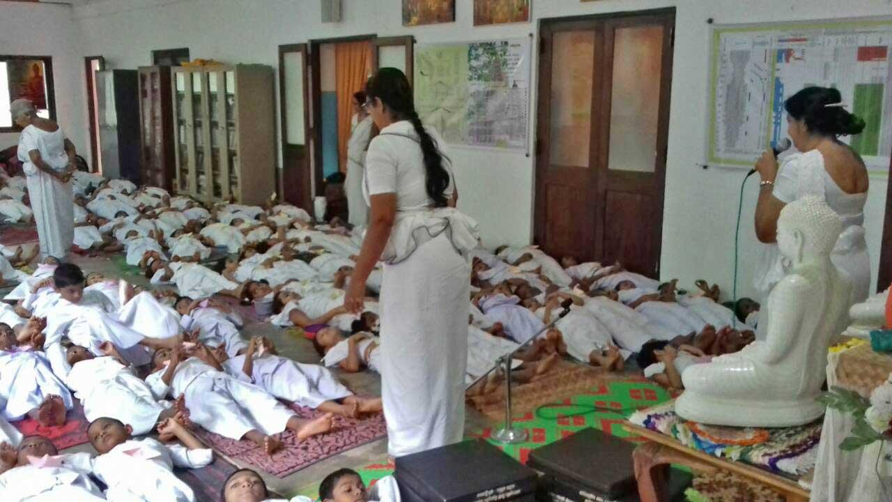 The Introduction of 'Sati Pasala' to the University Sarasavi Daham Pasala at Peradeniya University Viharaya. (2)