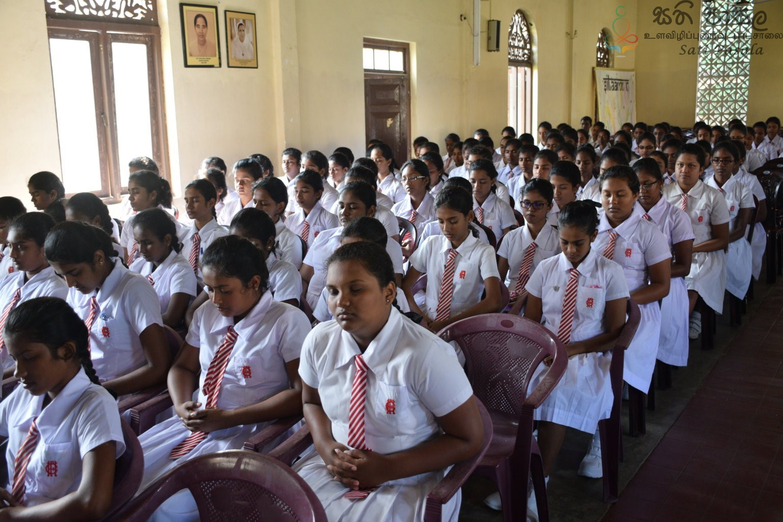 Mindfulness Program at Holy Family Convent, Kaluthara (44)