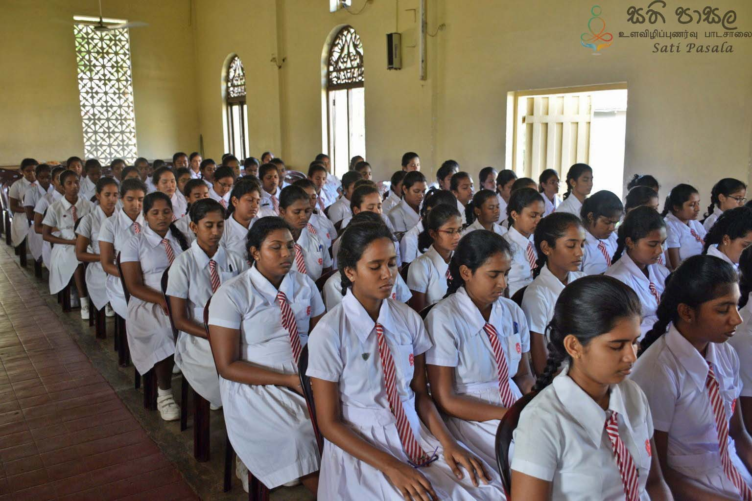 Mindfulness Program at Holy Family Convent, Kaluthara (45)