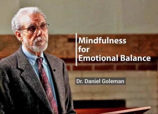 Dr. Daniel Goleman at Global Mindfulness Summit 2018